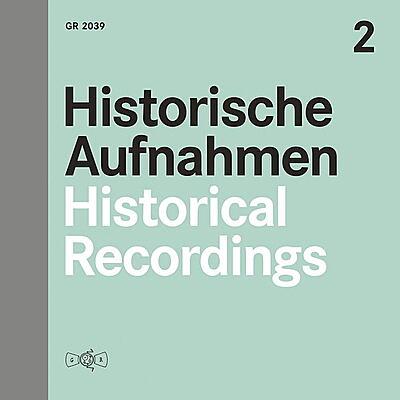 Various - Historische Aufnahmen Vol. 2