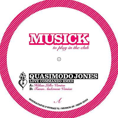 Quasimodo Jones - Love Commando - Remixes