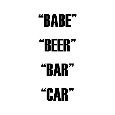 Dual Action - Babe Beer Bar Car