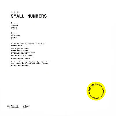Jon Doe One - Small Numbers