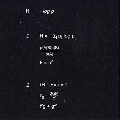 H - - log p
