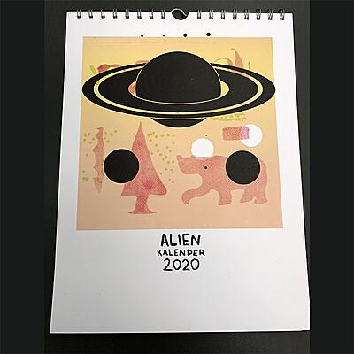 Alien Transistor - Alien Kalender