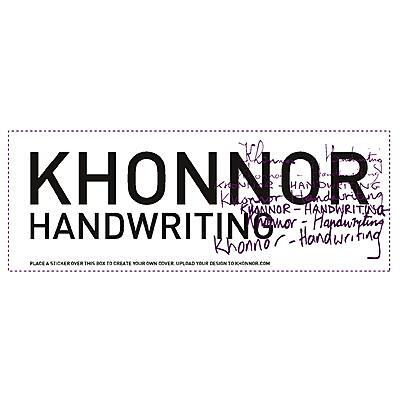 Khonnor - Handwriting
