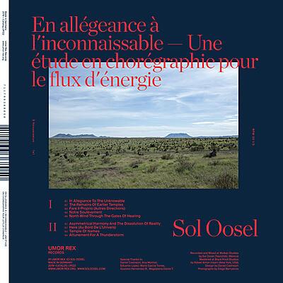 Sol Oosel - En allégeance à l'inconnaissable — Une étude en chorégraphie pour le flux d'énergie