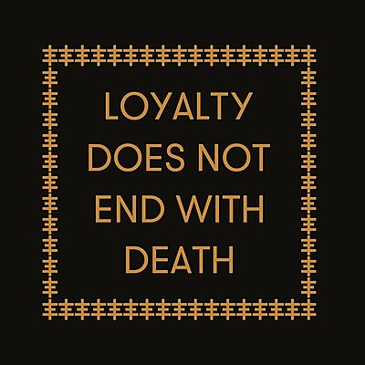 Genesis Breyer P-Orridge & Carl Abrahamsson - Loyalty Does Not End With Death