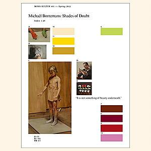 mono.kultur - #31: Michael Borremans