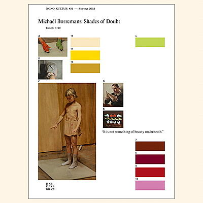 mono.kultur - #31: Michael Borremans