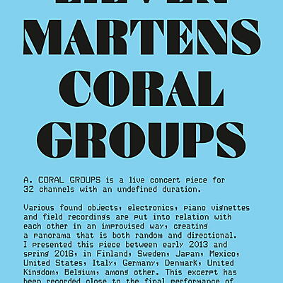 Lieven Martens - Coral Groups