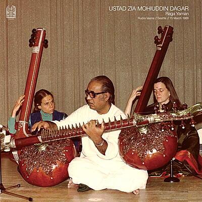 Ustad Zia Mohiuddin Dagar - Raga Yaman (Rudra Veena // Seattle // 15 March 1986)